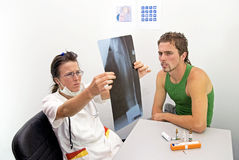X-rays Royalty Free Stock Photography