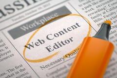 We& x27; ri redattore di noleggio del contenuto Web 3d Fotografia Stock