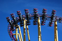 X Roller Coaster Royalty Free Stock Photography