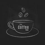 It& x27; s咖啡时间 免版税图库摄影