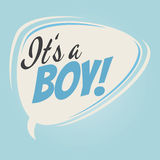 It& x27;s a boy Royalty Free Stock Photo