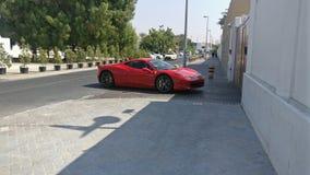 It& x27; s en Ferrari Arkivfoton