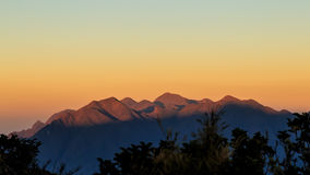 It's a new day at the mountains Stock Photography