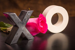 X's and O's Royalty Free Stock Photos
