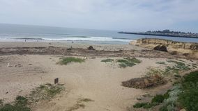 It& x27; s una playa de un día Foto de archivo