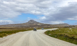 4X4 Safari in the Falkland Islands-2 Royalty Free Stock Image