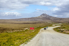 4X4 Safari in the Falkland Islands-4 Stock Photography