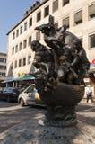 ' Schip van fools' standbeeld Nurnberg Stock Afbeelding