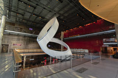 'Skylight 2' sculpture in Stavanger concert hall Stock Images