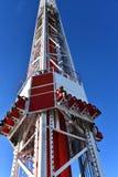 & x27; Stora Shot& x27; Spänningritt uppe på stratosfären Royaltyfri Bild