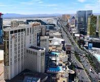 & x27; Strip& x27; a Vegas che sembra diretto a sud Fotografie Stock