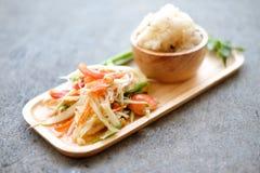 'Sum Tum' The favourite food of Thailand Stock Image