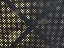 X (svart X) Arkivbild