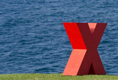 X tekens de vlek Stock Afbeeldingen