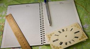 it& x27; tempo de s para registros dos pensamentos Fotografia de Stock