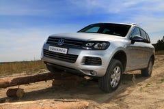 4x4 test-drive in Ukraine Stock Photo