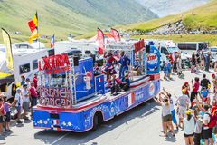 X-tra Total Truck - Tour de France 2015 Stock Image