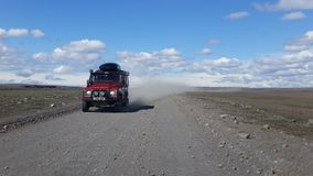 4x4 Travel in Iceland stock photography