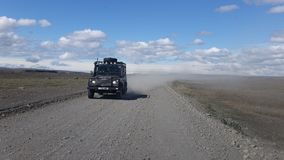 4x4 Travel in Iceland Royalty Free Stock Photography