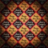 & x27; Vrolijke Kerstmis & Gelukkige Nieuwe Year& x27; uitstekende stijlachtergrond Stock Afbeeldingen