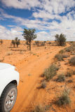 4x4 w Kalahari Zdjęcie Royalty Free