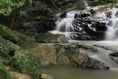 & x27;Water fall in little Hawaii trail at tko Royalty Free Stock Photo