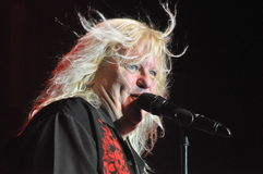 X-zondaar Live At Elements Of Rock 2013 Stock Foto