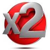 X2 3d. Stock Image