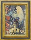"""""""Parade (détail)"""", Georges Rouault, vers 1907-1910. Centre Pompidou, Paris. Stock Image"""