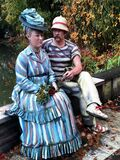 """""""Sailing the Seine"""" -- After Manet's """"Argenteuil"""" Stock Image"""