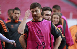 Xabi Alonso Immagine Stock