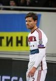 Xabi Alonso av Bayern Munich Fotografering för Bildbyråer