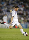 Xabi Alonso av Real Madrid Arkivbild