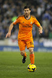 Xabi Alonso av Real Madrid Arkivbilder