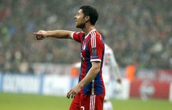XABI ALONSO BAYERN MUNICH Stock Photography