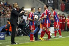 XABI ALONSO BAYERN MUNICH Stock Photo