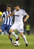 Xabi Alonso del Real Madrid Fotografia Stock Libera da Diritti