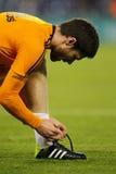 Xabi Alonso del Real Madrid Fotografia Stock