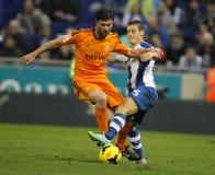 Xabi Alonso del Real Madrid Fotografie Stock