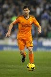 Xabi Alonso del Real Madrid Immagini Stock