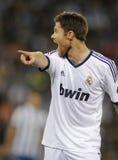 Xabi Alonso di Real Madrid Fotografia Stock Libera da Diritti
