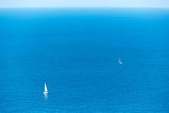 Xabia Javea Mediterranean sea in Alicante Stock Photo