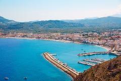 Xabia Javea Mediterranean village in Alicante Stock Images