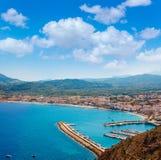 Xabia Javea Mediterranean village in Alicante Royalty Free Stock Image