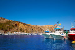 Xabia Javea port marina Mediterranean Spain Stock Photo