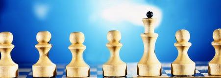 Xadrez, Fotografia de Stock Royalty Free