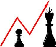 Xadrez ilustração royalty free