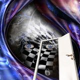 Xadrez-cara Imagens de Stock Royalty Free