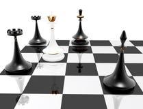 Xadrez: checkmate ilustração stock