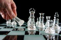 Xadrez - derrotada Imagem de Stock Royalty Free